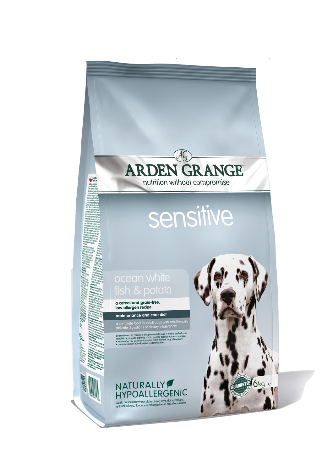 Arden Grange Sensitive Fish & Potato 6kg