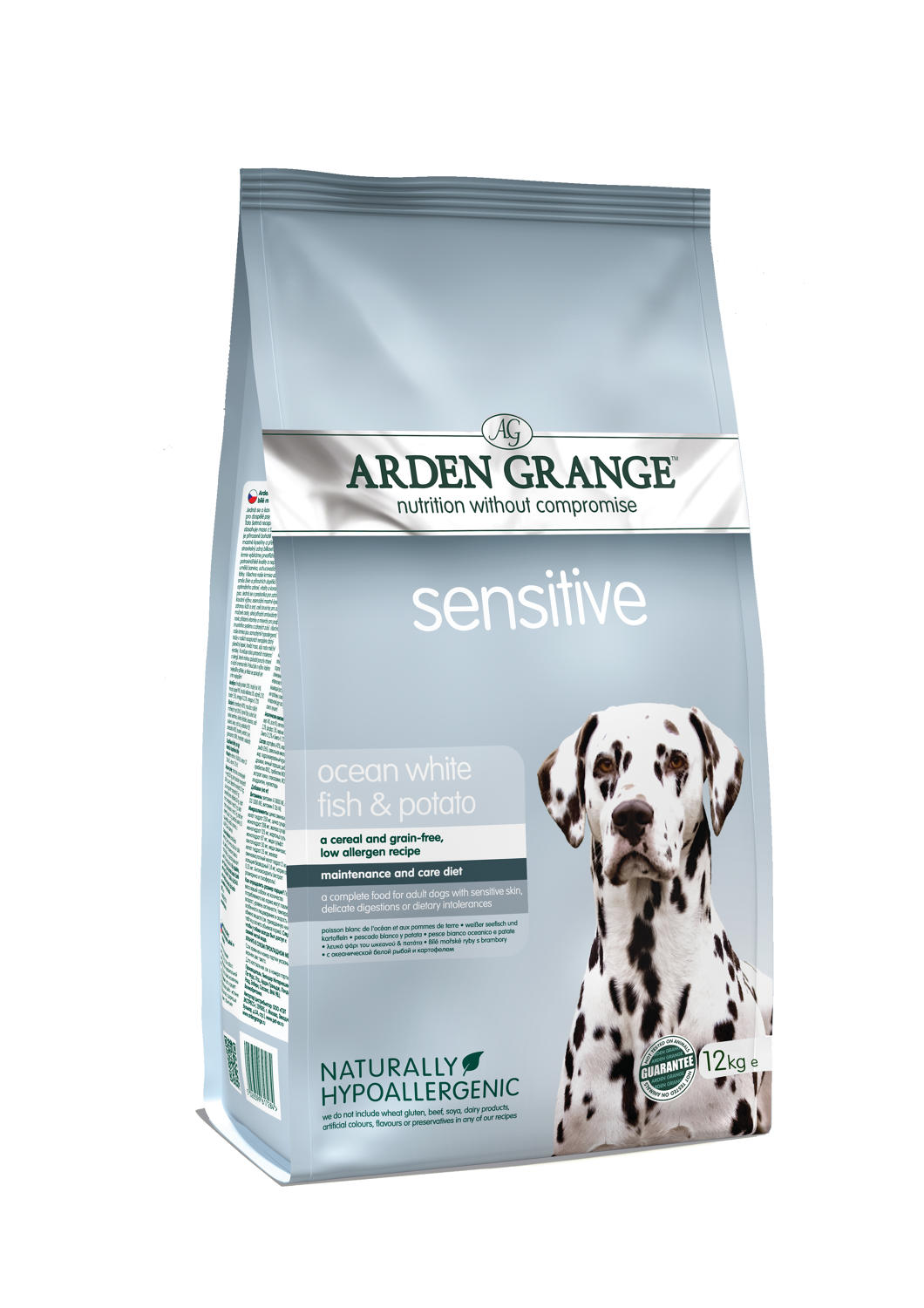 Arden Grange Sensitive Fish & Potato 12kg