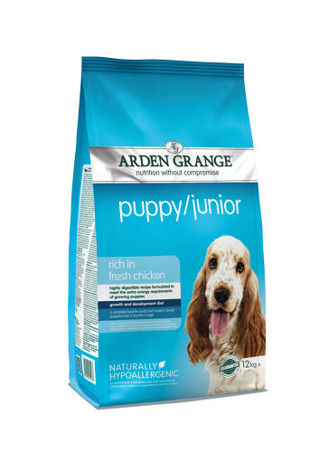 Arden Grange Puppy/ Junior 12kg
