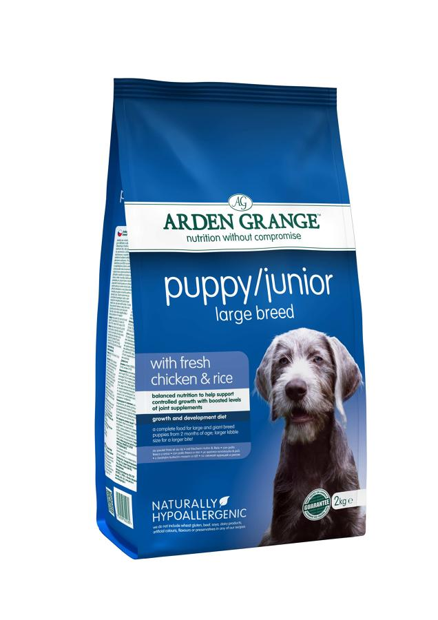 Arden Grange Puppy/ Junior Large Breed 2kg