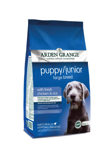 Arden Grange Puppy/ Junior Large Breed 6kg