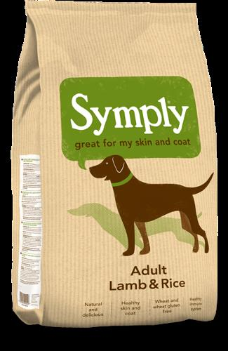 Symply Adult Lamb & Rice 12kg