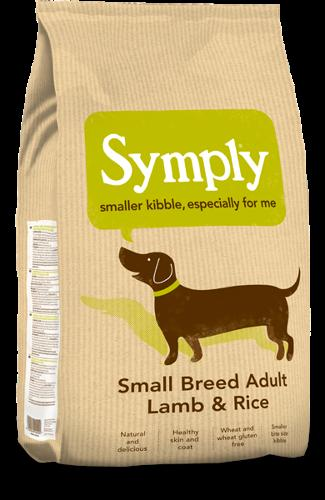 Symply Small Breed Adult Lamb & Rice 2kg