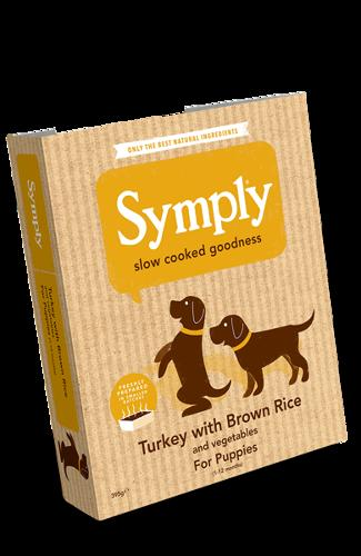 Symply Turkey & Rice For Puppies 395g