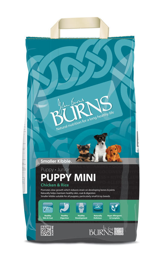 Burns Puppy Mini Chicken & Brown Rice 2kg