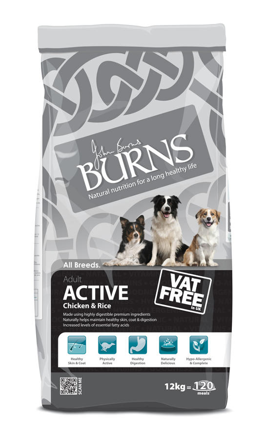 Burns Active Chicken 12kg