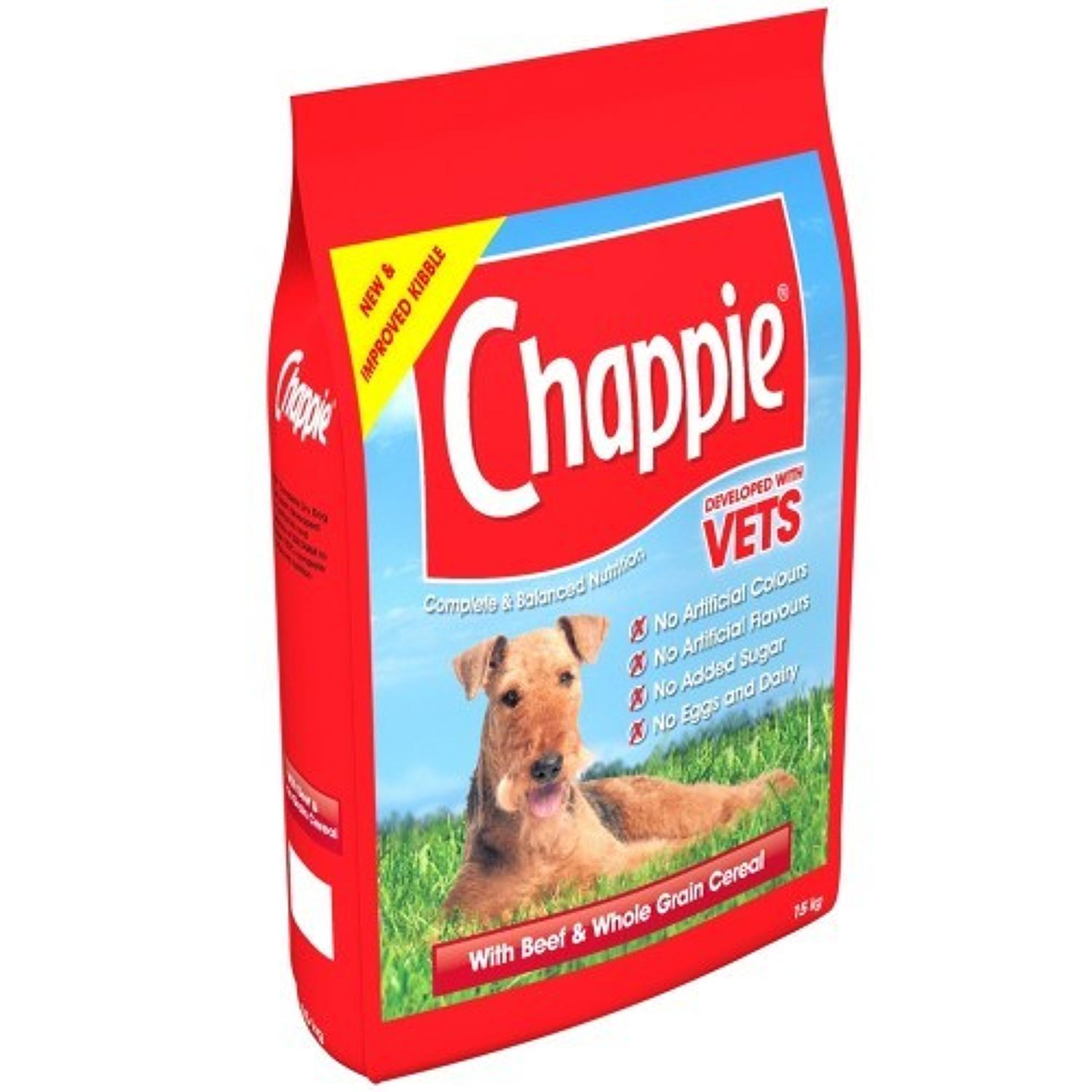 Chappie Complete with Beef 3kg