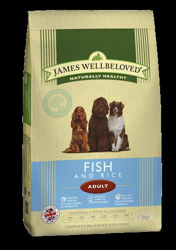 James Wellbeloved Adult Fish & Rice 2kg