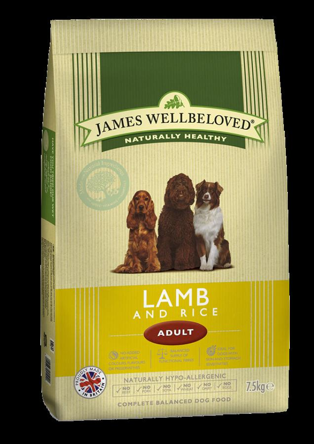 James Wellbeloved Adult Lamb & Rice 2kg