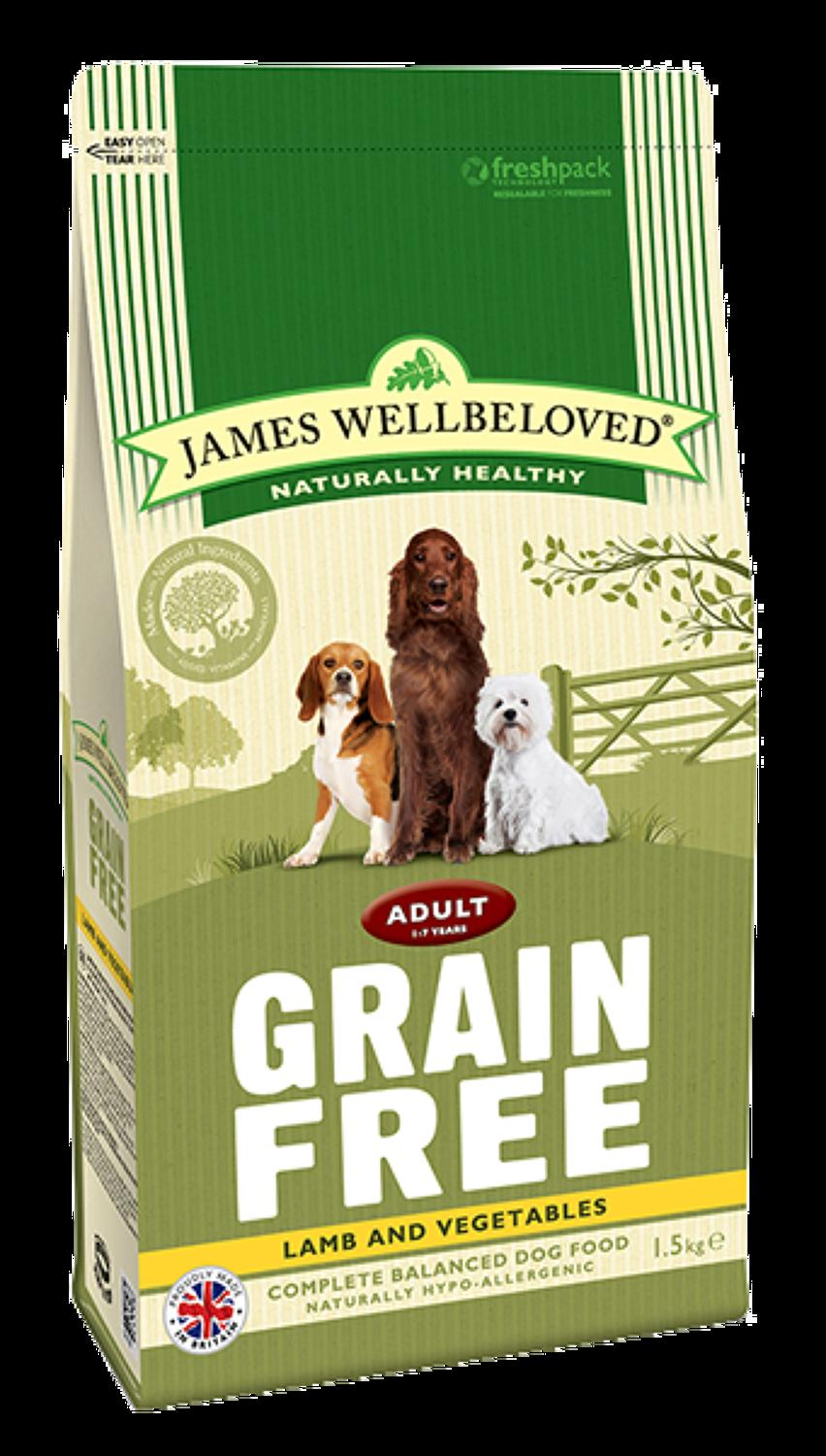 James Wellbeloved Adult Lamb & Veg 1.5kg