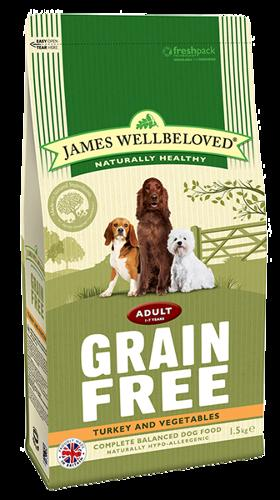 James Wellbeloved Adult Turkey & Veg 1.5kg
