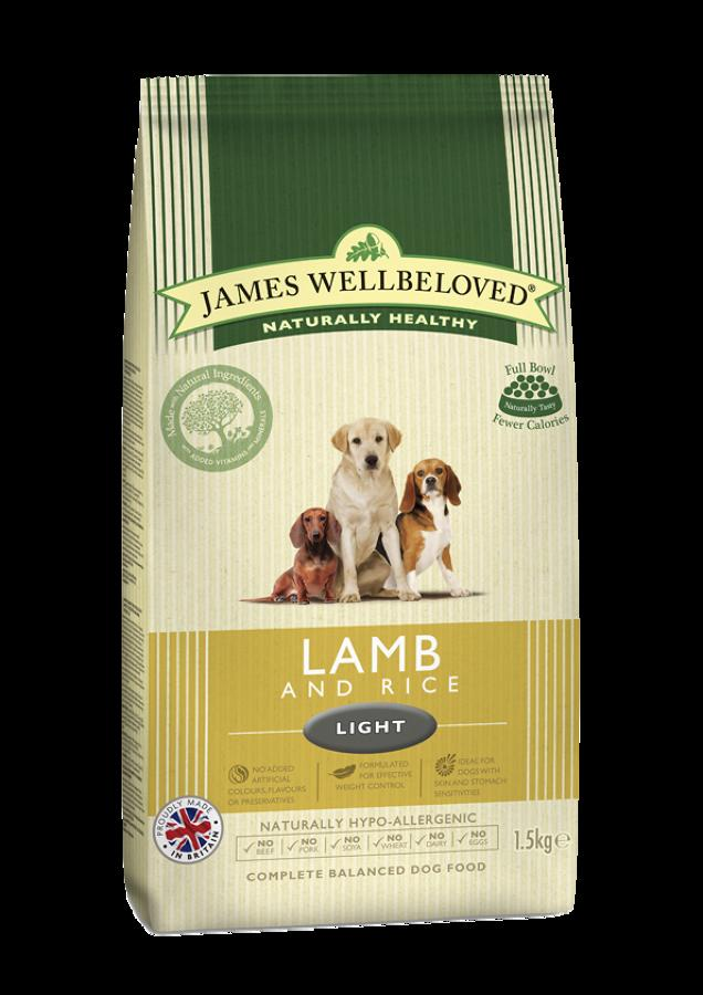 James Wellbeloved Light Lamb & Rice 1.5kg