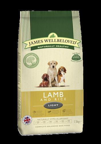 James Wellbeloved Light Lamb & Rice 12.5kg