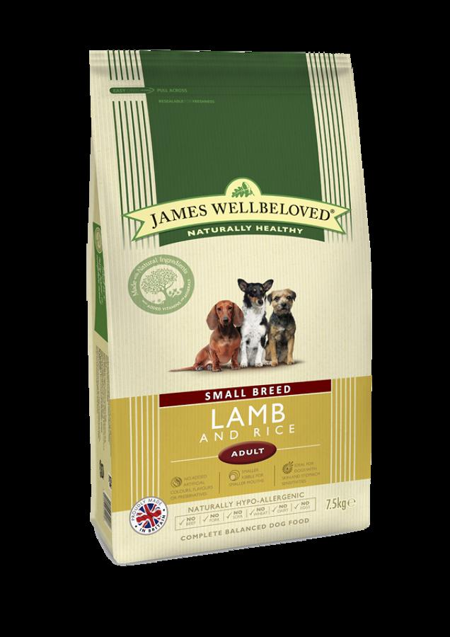 James Wellbeloved Small Brd Adult Lamb 1.5kg