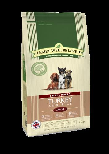 James Wellbeloved Small Brd Adult Turkey 1.5k
