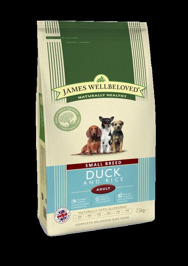 James Wellbeloved Small Brd Adult Duck 1.5kg