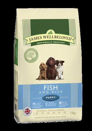 James Wellbeloved Puppy Fish & Rice 2kg