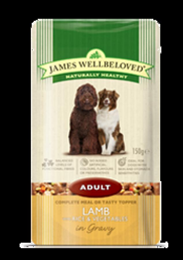 James Wellbeloved Adult Lamb 10x150g