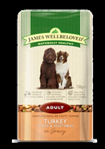 James Wellbeloved Adult Turkey 10x150g