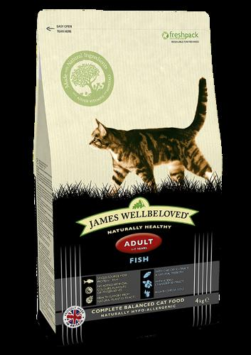 James Wellbeloved Cat Adult Fish