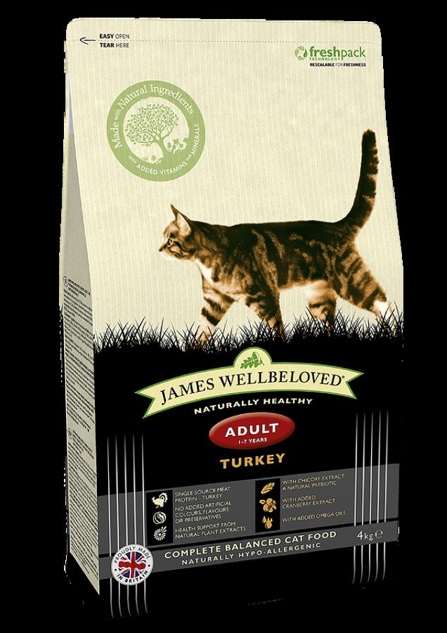 James Wellbeloved Cat Adult Turkey