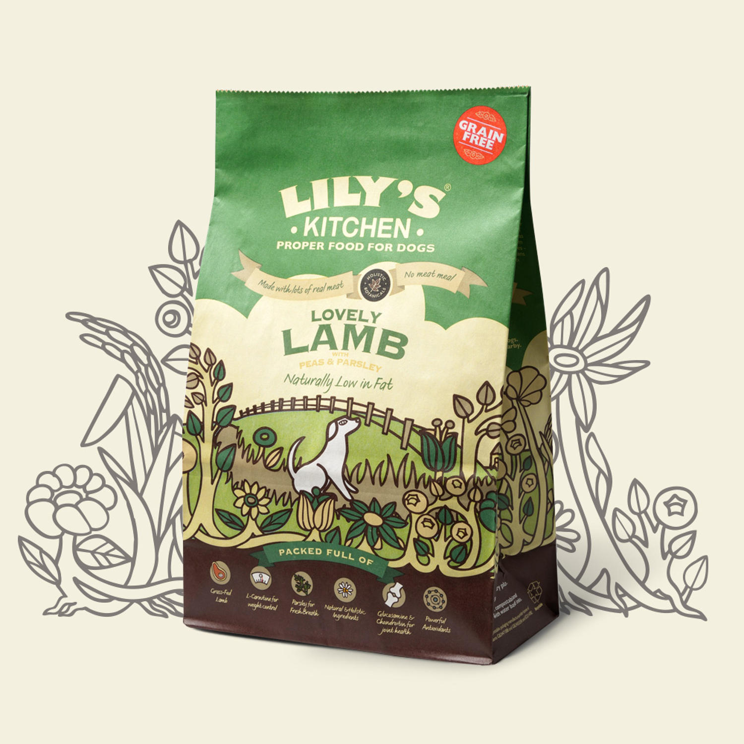 Lily's Kitchen Dog Adult Lamb 1kg