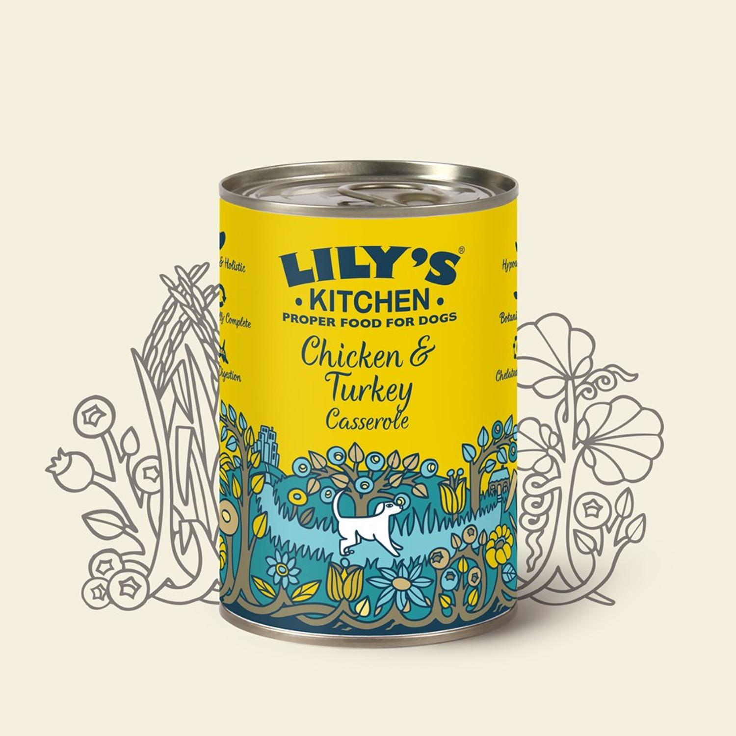 Lily's Kitchen Dog Chicken & Turkey 400g
