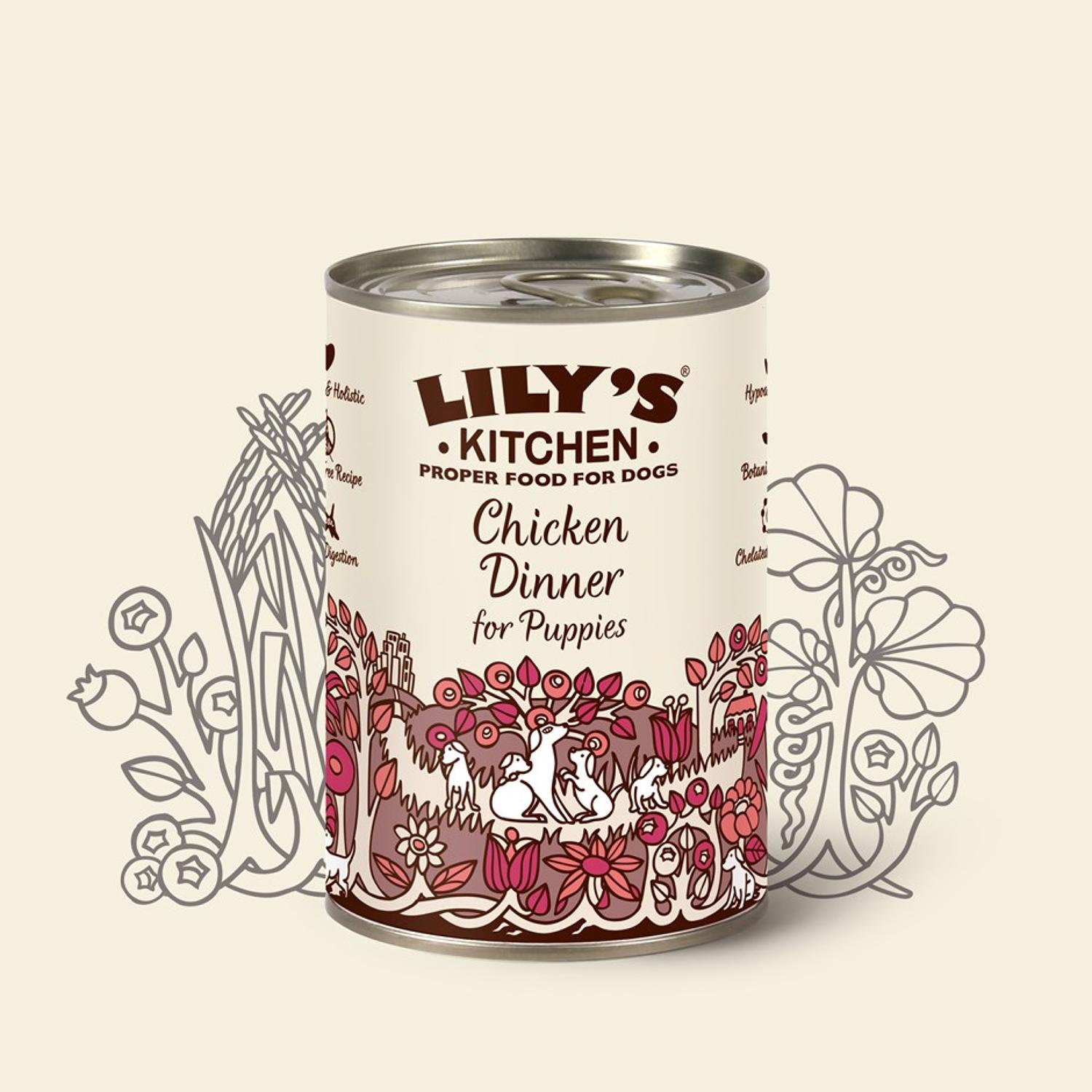 Lily's Kitchen Puppy Chicken Dinner 400g