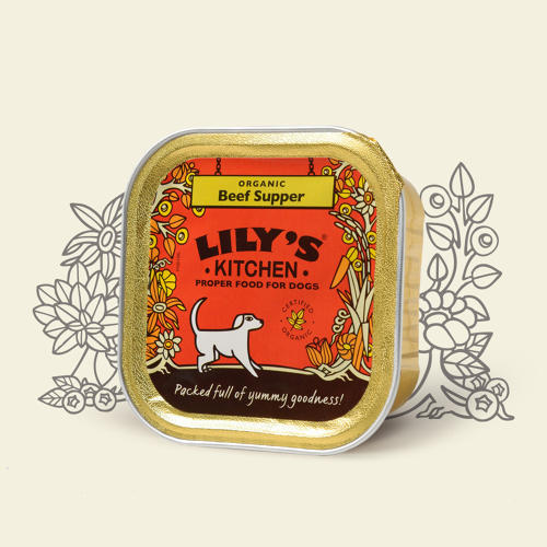 Lily's Kitchen Dog Beef Supper 150g