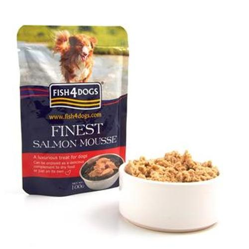 Fish4Dogs Finest Salmon Mousse 100g