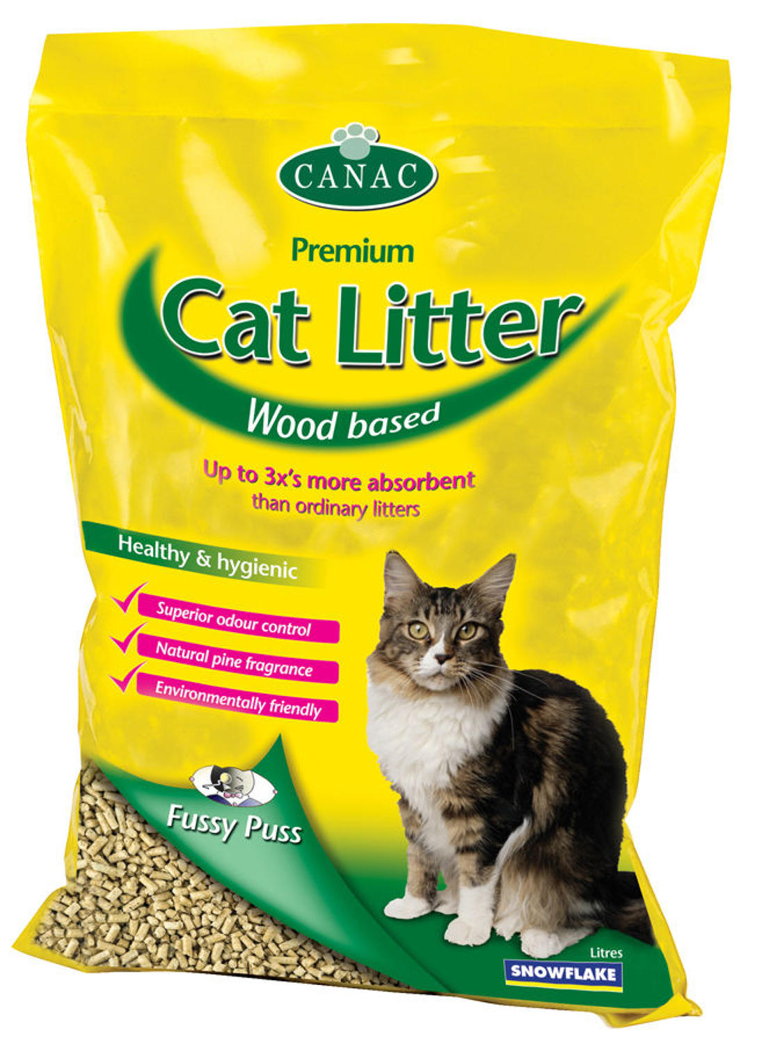 Pettex PamPuss Wood Litter 30ltr