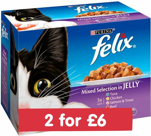 Felix Pouch Mixed in Jelly 12x100g