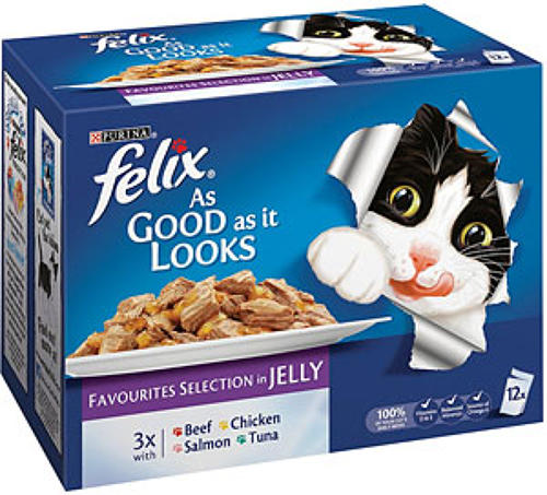 Felix AGAIL Favourites in Jelly 12x100g