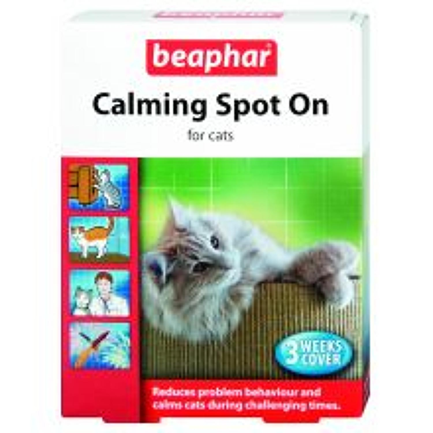 Beaphar Calming Spot On Cats 3week