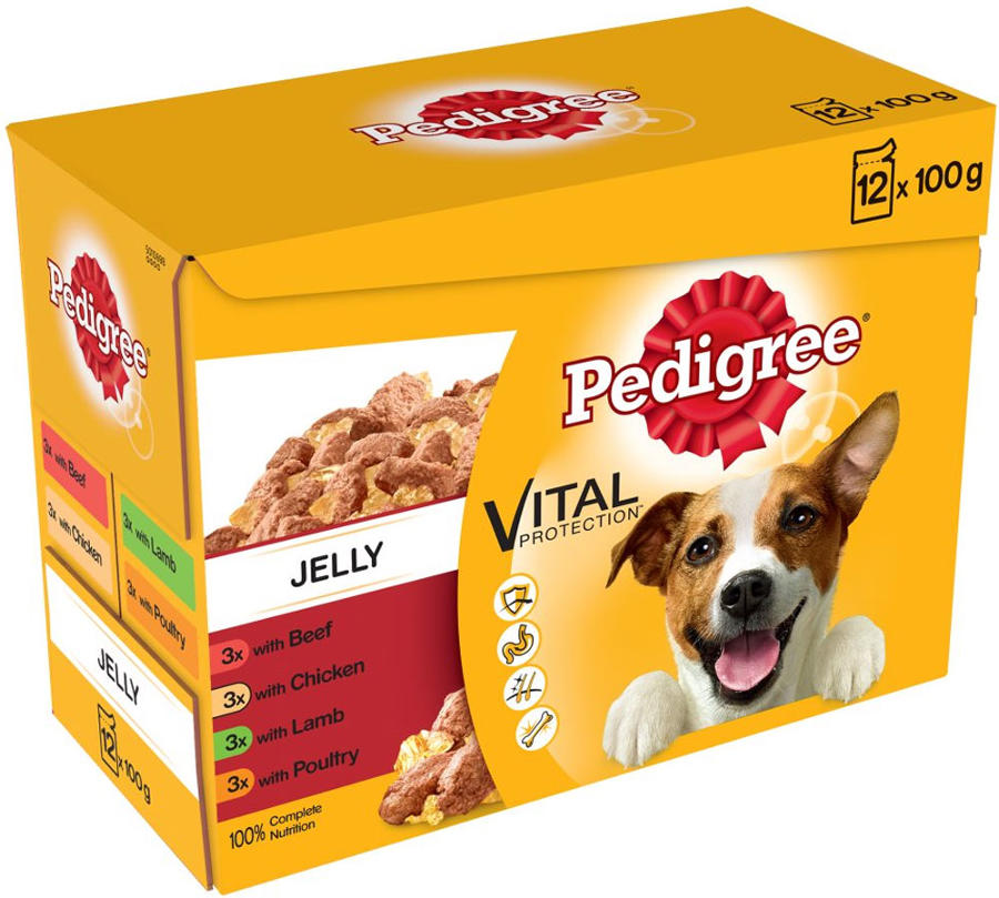 Pedigree Pouch Favourites in Jelly 12x100g