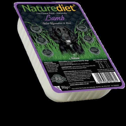 NatureDiet Lamb, Veg & Rice 390g
