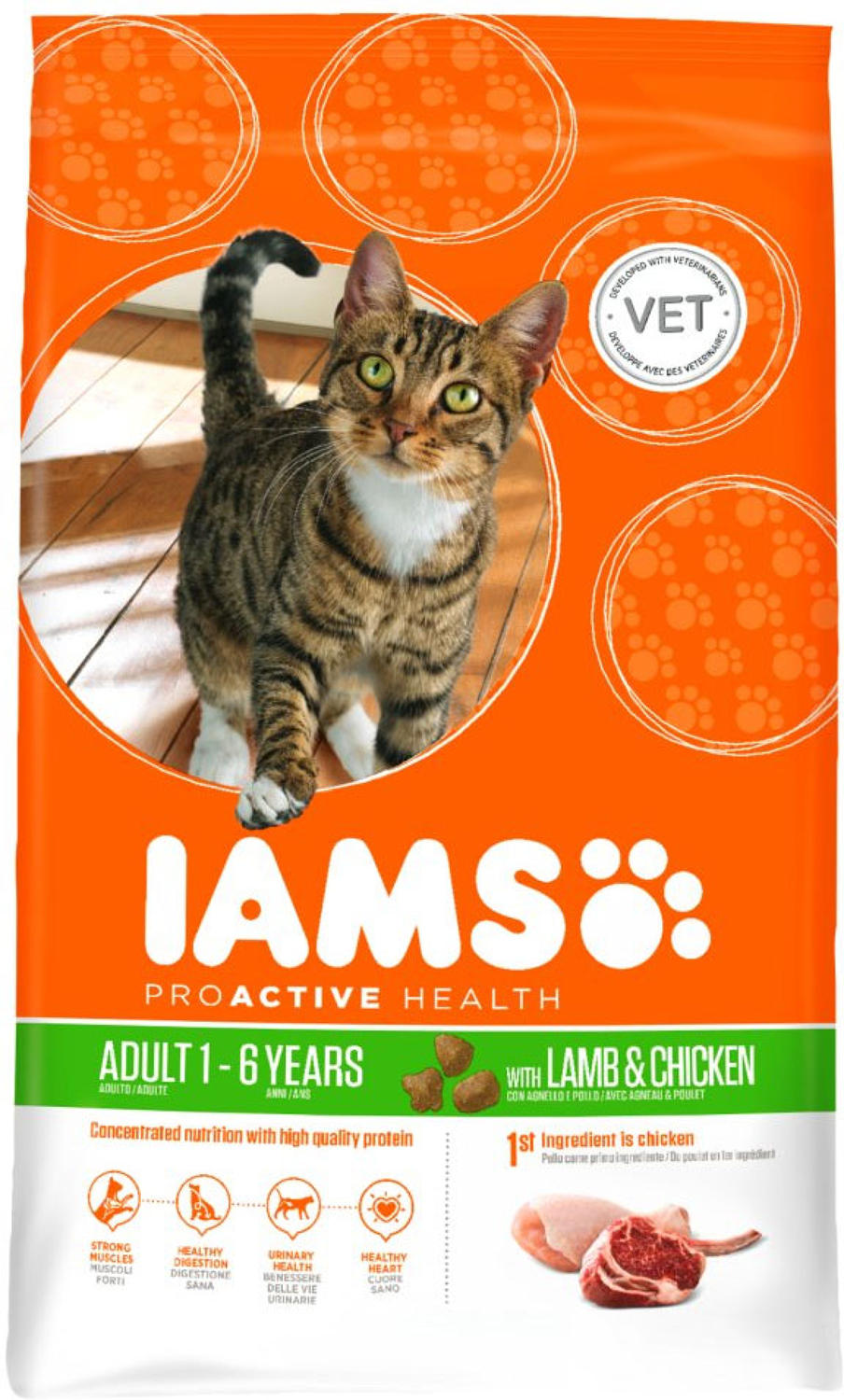 IAMS Cat Rich in Lamb & Chicken 3kg