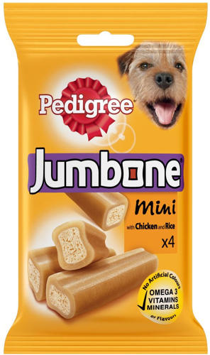 Pedigree Jumbone Mini Chicken 4pk