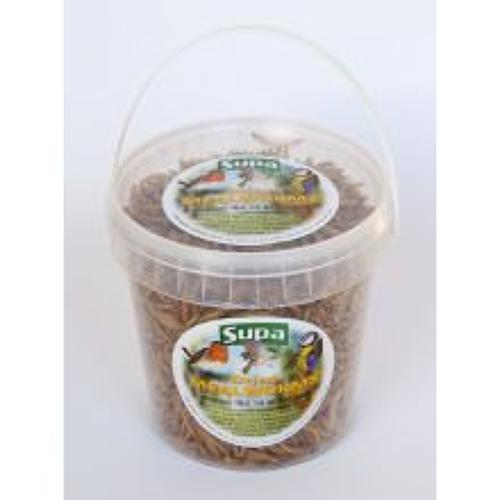 Supa Dried Mealworms 1000ml/ 1 Litre
