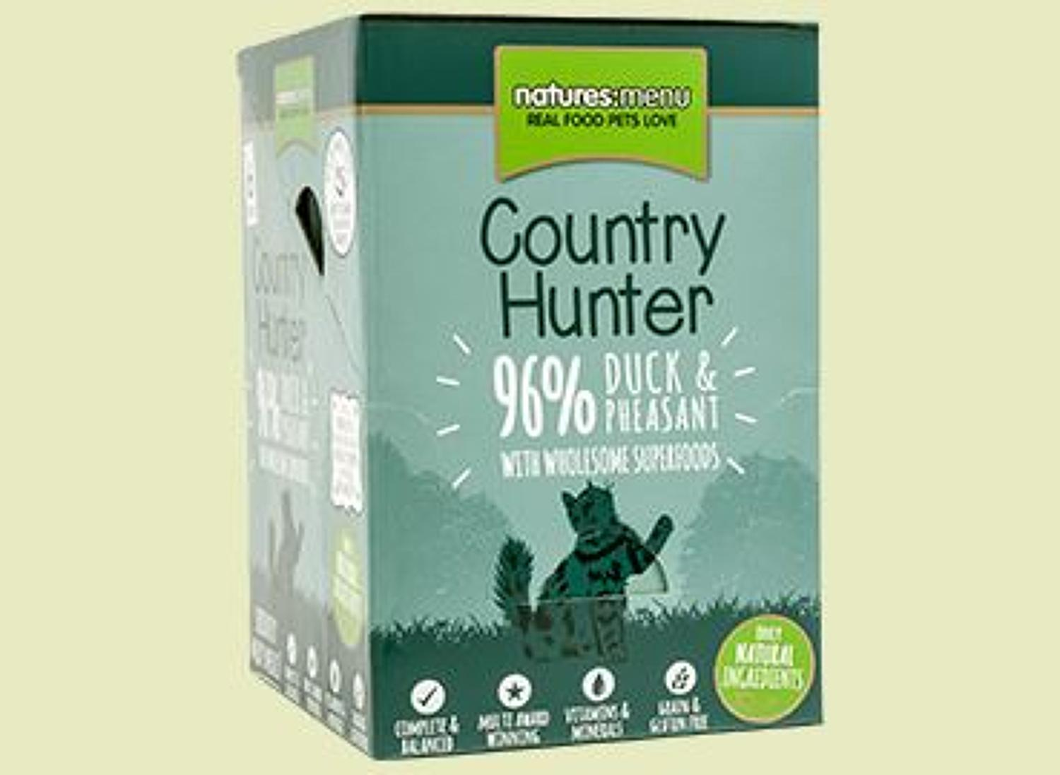 Natures Menu Hunter Cat Duck & Pheasant 6x85g