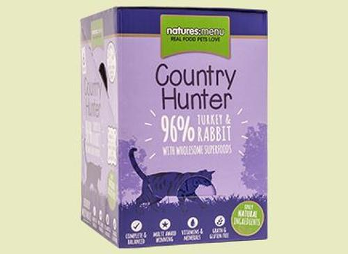 Natures Menu Hunter Cat Turkey & Rabbit 6x85g