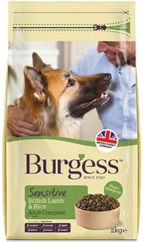 Burgess Sensitive Lamb & Rice 12.5kg