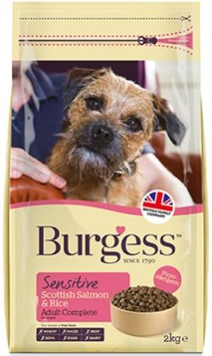 Burgess Sensitive Salmon & Rice 12.5kg