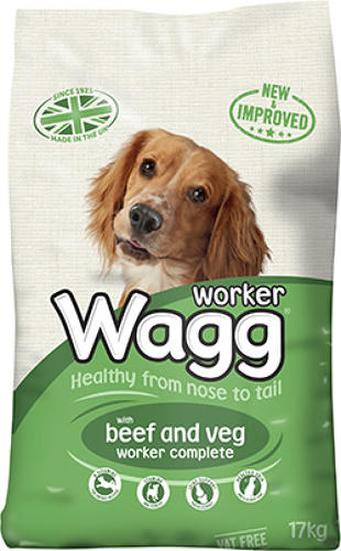 Wagg Worker Beef 17kg