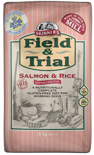 Skinners Field & Trial Salmon & Rice
