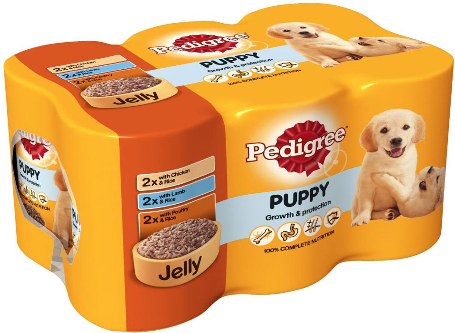 Pedigree Tins Puppy in Jelly 6x400g