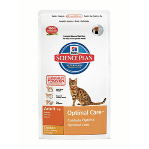 Hills SP Cat Optimal Care Adult Chicken 2kg
