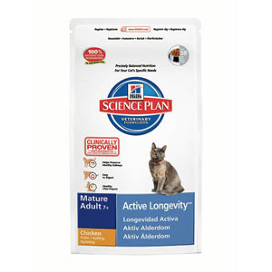 Hills SP Cat Active Longevity 7+ Chicken 2kg