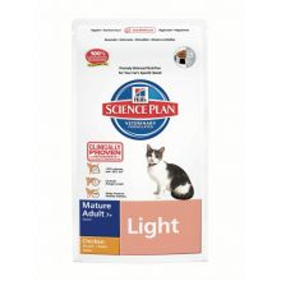 Hills SP Cat Light Mature 7+ Chicken 1.5kg