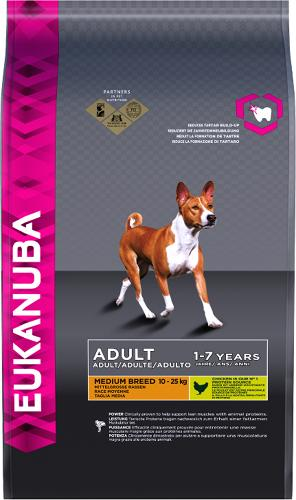 Eukanuba Dog Medium Breed Adult Chicken 3kg
